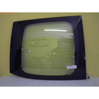 HYUNDAI iLOAD KMFWBH - 2/2008 TO CURRENT - VAN - PASSENGERS - LEFT SIDE REAR BARN DOOR GLASS  - HEATED