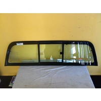 HOLDEN COLORADO RC - 7/2008 to 12/2011 - UTE - REAR WINDSCREEN GLASS - SLIDING