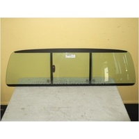 FORD COURIER PE/PG/PH - 1/1999 TO 11/2006 - UTILITY - REAR SLIDING WINDOW GLASS (ROPE IN) - GREEN