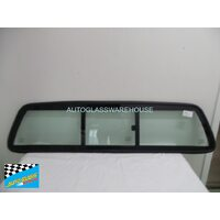 suitable for TOYOTA HILUX ZN210 - 2DR UTE 4/2005>6/2015 - REAR SLIDING WINDOW - NEW (GREEN)