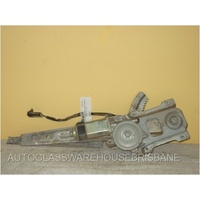 NISSAN PATROL GU - 11/1997 to CURRENT - 4DR WAGON - DRIVERS - RIGHT SIDE REAR WINDOW REGULATOR - ELECTRIC