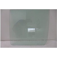GREAT WALL X240 H3/H5 - 10/2009 to 12/2014 - 4DR WAGON - PASSENGERS - LEFT SIDE REAR DOOR GLASS