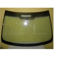 TOYOTA CAMRY ASV50R - 12/2011 to CURRENT - 4DR SEDAN - FRONT WINDSCREEN GLASS - MIRROR BUTTON, TOP & SIDE MOULD