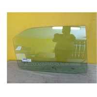 TOYOTA CAMRY ASV50R - 12/2011 to 5/2015 - 4DR SEDAN - DRIVERS - RIGHT SIDE REAR DOOR GLASS - WITHOUT FITTINGS
