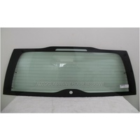 VOLVO V70 - 3/2000 TO 12/2007 - 5DR WAGON - REAR WINDSCREEN GLASS - HEATED, ANTENNA, WIPER HOLE