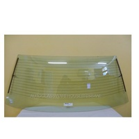 HOLDEN COMMODORE VK/VL - 3/1984 to 8/1988 - 4DR SEDAN (CHINA MADE) - REAR WINDSCREEN GLASS - 572MM X 1413MM