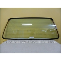 HOLDEN COMMODORE VK/VL - 3/1984 to 8/1988 - 4DR WAGON (CHINA MADE) - REAR WINDSCREEN GLASS - HEATED