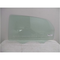 PROTON S16 - 12/2009 to CURRENT - 4DR SEDAN - PASSENGERS - LEFT SIDE REAR DOOR GLASS