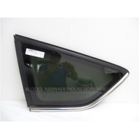FORD KUGA TE - 2/2012 to 3/2013 - 5DR WAGON - PASSENGER - LEFT SIDE REAR CARGO GLASS - DARK TINT - ENCAPSULATED