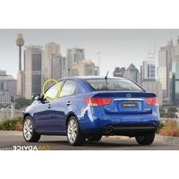 KIA CERATO TD - 1/2010 to 4/2013 - 5DR HATCH  - LEFT SIDE FRONT DOOR GLASS