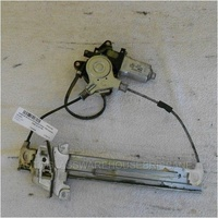 MAZDA TRIBUTE ED - 2/2001 to 6/2006 - 4DR WAGON - DRIVERS - RIGHT SIDE REAR WINDOW REGULATOR - ELECTRIC