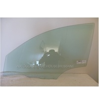 MAZDA 3 BK - 4/5DR HATCH 1/04>3/09 - LEFT SIDE FRONT DOOR GLASS (12mm hole)