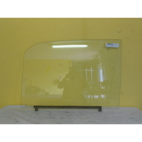 suitable for TOYOTA HIACE RH20-UTE 1/1977 > 1/1983 - PASSENGERS-LEFT SIDE-FRONT DOOR GLASS(1/4 TYPE)