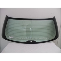 SUBARU LIBERTY/OUTBACK 3RD GEN - 10/1998 TO 8/2003 - 5DR WAGON - REAR WINDSCREEN GLASS - ENCAPSULATED