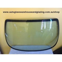 MAZDA 323 BA/BH ASTINA - 7/1994 to 8/1998 - 4DR SEDAN/HARDTOP - REAR WINDSCREEN GLASS - 685MM X 1390MM