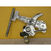 NISSAN TIIDA C11 -SEDAN/HATCH - 2/2006 to 10/2012 -PASSENGER-LEFT REAR DOOR-ELECTRIC WINDOW REGULATOR