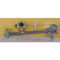 FORD FALCON AU-BA-BF - 9/1998 TO 5/2008 - SEDAN/WAGON - PASSENGERS - LEFT SIDE REAR WINDOW REGULATOR - MANUAL