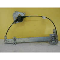 FORD FALCON EA-EB-ED-EF-EL - 2/1988 TO 8/1998 - SEDAN/WAGON - PASSENGERS - LEFT SIDE REAR DOOR WINDOW REGULATOR - MANUAL