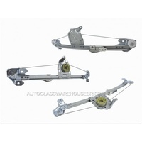 HOLDEN ASTRA TS - 8/1998 TO 9/2005 - 5DR HATCH - LEFT SIDE REAR ELECTRIC WINDOW REGULATOR - NO MOTOR