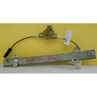 HYUNDAI EXCEL X3 - 9/1994 to 4/2000 - SEDAN/HATCH - PASSENGERS - LEFT SIDE REAR WINDOW REGULATOR - MANUAL