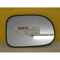 SUZUKI SWIFT MF - 10/89 TO 12/99  - 5DR HATCH - RIGHT SIDE MIRROR - WITH BACKING PLATE