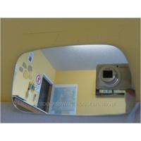 suitable for TOYOTA PASEO EL44 - 2DR COUPE 6/91>10/95 - LEFT SIDE FLAT MIRROR GLASS ONLY - NEW
