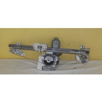 HOLDEN COMMODORE VT/VX - 9/1997 to 7/2006 - 4DR SEDAN - PASSENGERS - LEFT SIDE REAR WINDOW REGULATOR - ELECTRIC