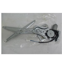HOLDEN COMMODORE VT-VX - 1997 to 7/2006 - SEDAN/WAGON - PASSENGERS - LEFT SIDE FRONT WINDOW REGULATOR - ELECTRIC-(Square Plug)