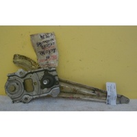 suitable for TOYOTA ECHO - SEDAN/HATCH 10/99>9/05  LEFT REAR DOOR - MANUAL WINDOW REGULATOR
