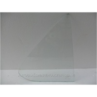 HOLDEN TORANA LH-LX - 1969 to 1974 - 4DR SEDAN - DRIVERS - RIGHT SIDE REAR QUARTER GLASS - CLEAR