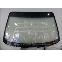 HOLDEN COMMODORE VT/VX/VY/VZ - 8/1997 to 1/2008 - SEDAN/WAGON/UTE - FRONT WINDSCREEN GLASS - LOW-E COATING - CLEAR