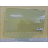 VOLKSWAGEN GOLF VII - 4/2013 > CURRENT - 5DR HATCH - LEFT SIDE REAR DOOR GLASS - NEW (1 hole)