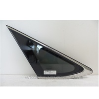 LEXUS RX SERIES 4/2003 to 1/2009 - 5DR WAGON -  PASSENGERS - LEFT SIDE REAR CARGO GLASS - PRIVACY GREY