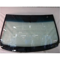 TOYOTA RAV4 ASA44R - 4/2013 to CURRENT - 5DR WAGON - FRONT WINDSCREEN GLASS - MIRROR BUTTON. TOP&SIDE MOULD - GREEN