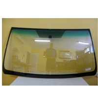 TOYOTA PRADO 150 SERIES - 11/2009 to CURRENT - 3DR/5DR WAGON - FRONT WINDSCREEN GLASS - ACOUSTIC, MIRROR BUTTON, MOULDING
