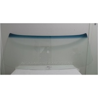 FORD FALCON XA/XB/XC - 1/1972 to 12/1978 - 2DR COUPE (LAUDAU COBRA) - FRONT WINDSCREEN GLASS - CLEAR BLUE BAND