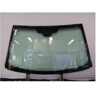 MERCEDES ML CLASS WL163 - 9/1998 to 8/2005 - 5DR WAGON - FRONT WINDSCREEN GLASS - MIRROR BUTTON, INSIDE 2 PHASE SUN-SHADE, ENCAPSULATED