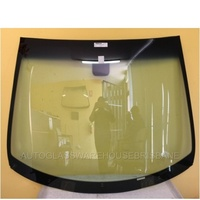 PEUGEOT 207 - 3/2007 to 12/2012 - HATCH/WAGON - FRONT WINDSCREEN GLASS - RAIN SENSOR,MIRROR BUTTON,TOP&SIDE MOULD,RETAINER