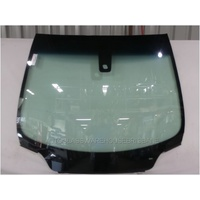 PEUGEOT 307 3/2003 to 12/2007 - WAGON/HATCH - FRONT WINDSCREEN GLASS  - RAIN SENSOR,RHOMBOID HOLE,MIRROR BUTTON,MOULDING