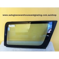 NISSAN PATROL GU - 11/1997 to CURRENT - 4DR WAGON - DRIVERS - RIGHT SIDE REAR CARGO GLASS - ENCAPSULATED