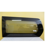 HYUNDAI iLOAD KMFWBH - 2/2008 to CURRENT - VAN - PASSENGERS - LEFT SIDE REAR BONDED FIXED WINDOW GLASS