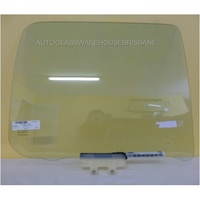 HOLDEN RODEO RA - 12/2002 to 7/2008 - 4DR DUAL CAB - RIGHT SIDE REAR DOOR GLASS