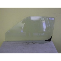 NISSAN NAVARA D22 - 4/1997 to 3/2015 - UTE - PASSENGERS - LEFT SIDE FRONT DOOR GLASS