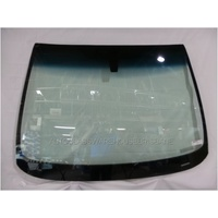 OPEL ASTRA AS - 9/2012 to CURRENT - 5DR HATCH - FRONT WINDSCREEN GLASS - MIRROR BUTTON, TOP MOULD & RETAINER - GREEN
