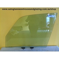 TOYOTA RAV4 10 SERIES - 7/1994 to 4/2000 - 5DR WAGON - LEFT SIDE FRONT DOOR GLASS