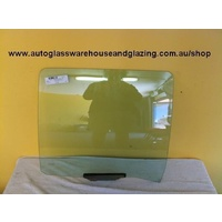 FORD FALCON EA-EB-ED-EF-EL - 2/1988 TO 8/1998 - 5DR WAGON - PASSENGERS - LEFT SIDE REAR DOOR GLASS - WITH FITTINGS