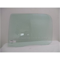 FOTON TUNLAND P201 - 6/2012 TO CURRENT - UTE - PASSENGERS - LEFT SIDE REAR DOOR GLASS