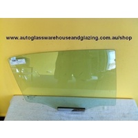 HOLDEN ASTRA TS - 9/1998 to 9/2005 - SEDAN/HATCH - DRIVERS - RIGHT SIDE REAR DOOR GLASS