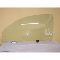 TOYOTA HILUX ZN210 - 3/2005 to 2015 - 2DR UTE - PASSENGERS - LEFT SIDE FRONT DOOR GLASS (FULL)