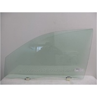 TOYOTA HILUX ZN210 - 3/2005 to 2015 - 4DR UTE - PASSENGERS - LEFT SIDE FRONT DOOR GLASS (FULL)